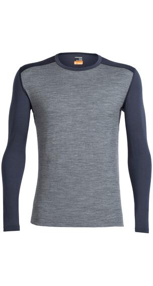 Icebreaker Oasis - Sous-vêtement Homme - gris/bleu